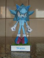 Nazo Papercraft by augustelos