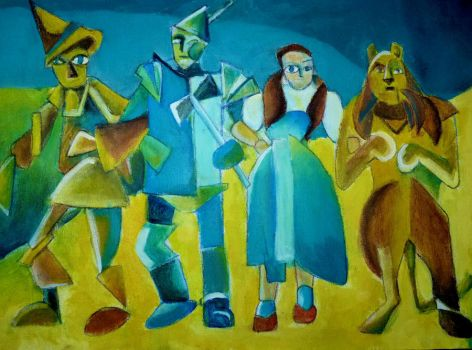 Dorothy and the wizard of Oz by CrispiRispi