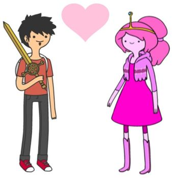 Fernando the human X Princess Bubblegum by Omnianimeman-brony