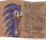Sonic On Sega Stopped Making Consoles by FireshockerBill