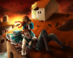 AC-D: Rooftop Sunset by Katarya