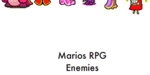 Mario And Luigi RPG Enemies by AstroBoy122