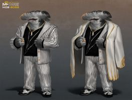 Monster Couture : Mob Boss by orochi-spawn