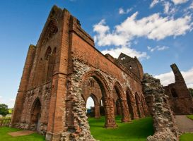 Sweetheart Abbey by GaryTaffinder