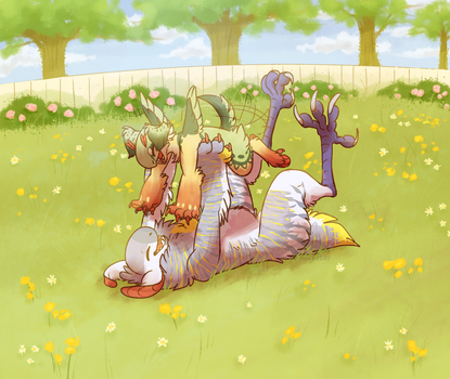 MAY PROMPT - summer day by red-anteater