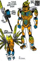 Toa Takua and Centra [Design] by KrytenMarkGen-0