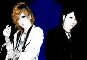 Uruha and Aoi by Flxrence