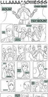 Legend of Korra - Little Fan :Bolin Comic: by lledra