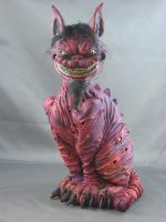 Cheshire Cat Painted by Blairsculpture