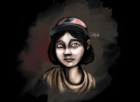 Clementine by RTOneBlueWolf