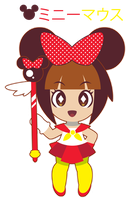 Magical Girl Minnie Mouse::GIFT:: by Itachi-Roxas