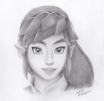 Skyward Sword Link by RealTRgamer