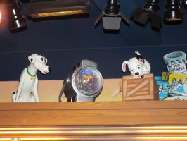 Mama and Puppy Disney Store 101 Dalmatians Display by KrazyKari