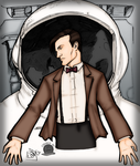 11th Doctor and the Astronaut by Blackmoonrose13