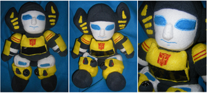 Sunstreaker Plush by S2Plushies
