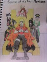 Sennin of the Four Nations by Dragonrider626