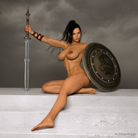 Shield Maiden by paultheslayer