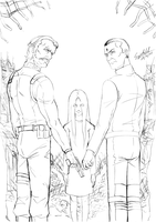 F.E.A.R._Family Reunion_pencil by Sigisfeld