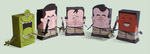 Ghostbusters Paper Toys by marisolivier