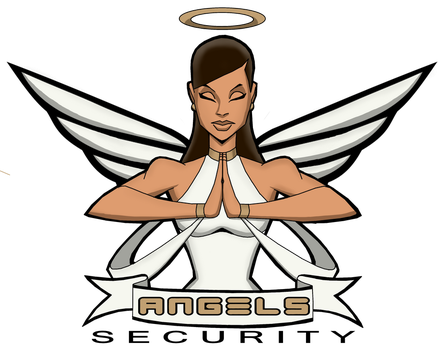 ANGELS SECURITY LOGO by icemaxx1