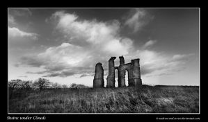 Ruins under Clouds by Andrew-and-Seven
