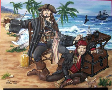 Here's where the Rum's gone... by Artsy50