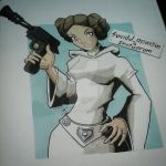 Carrie Fisher RIP by suicidalassassin