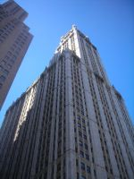 Woolworth Building View II by NY-Disney-fan1955