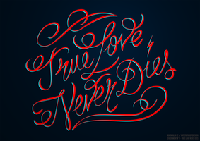 True Love Never Dies by GianlucaRenga