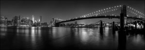 Darkness takes over Manhattan by marcialbollinger