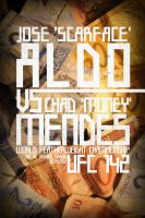UFC 142: Aldo vs. Mendes Poster by weoweoweo