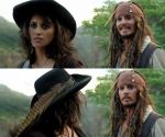 Jack Sparrow and Angelica by Emu96