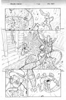 Steampunk Spiderman - Sample page 02 2013 by DenisM79