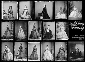 19th Century American Women 3 by MissPennyFarthing