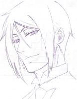 Sebastian Michaelis sketch by crimsonciel