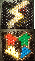 Harry Potter Kandi Cuff by anne-t-cats