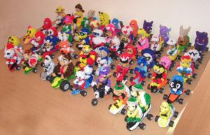 Mario Kart collection by fuzzyfigureguy