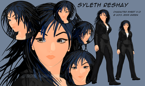 Syleth Character Sheet 2013 by ArdathkSheyna