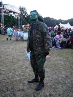 Another Orc at Faerieworlds 2014 by Mistgod