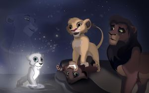 Kovu's Sons and the Miracle by TheGreenRabbit