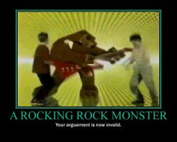 A Rocking Rock Monster by Andrewnuva199