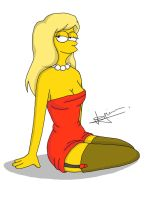 Lisa Simpson by xddx