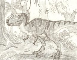 Daspletosaurus by DaBrandonSphere