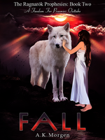 Fall by A.K. Morgen | Cover Art by IllicitWriter