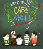 Cafe SHINee by jeremiyan