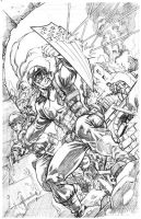 WW II Ultimate Cap Pencils by RobertAtkins