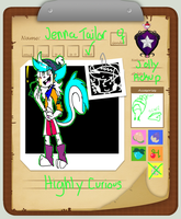 .::Pkmn Armonia 2nd Character-Jenna Tailor::. by Emboars