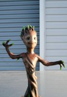 Baby Groot Test Paint by JohnsonArms