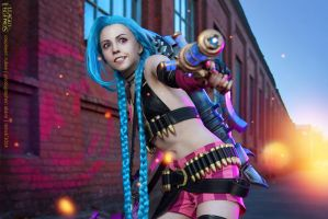 League of Legends. Jinx. 6 by aKami777
