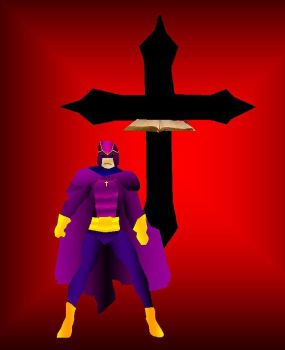 Bibleman 1999 3D Gradient by EspioArtworks